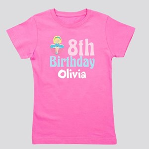 8th Birthday Tea Party Girls Tee