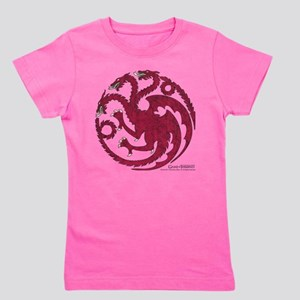 Game of Thrones House Targaryen Girl's Tee