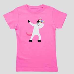 Unicorn Dab Girl's Tee