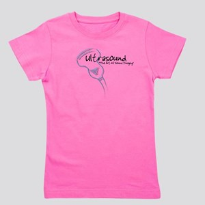 ultrasound transducer bluegreen 2 Girl's Tee