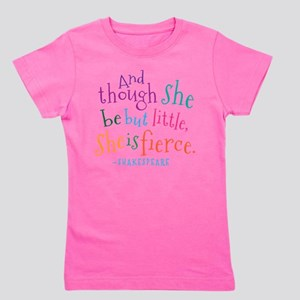 Shakespeare She Is Fierce quote T-Shirt
