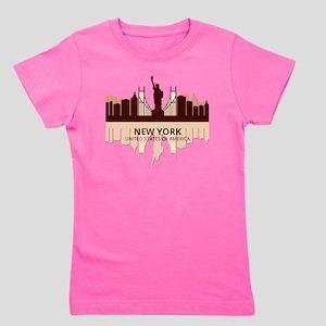 Ny Apartment Kids T-Shirts - CafePress