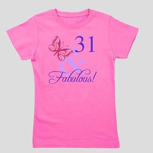 Fabulous 31st Birthday Girls Tee