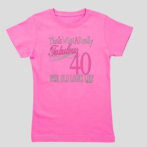 Fabulous 40yearold copy Girl's Tee
