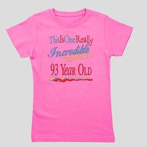 Incredibleat93 Girl's Tee