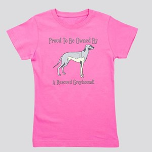 Proudly Owned By A Rescued Greyhound T-Shirt