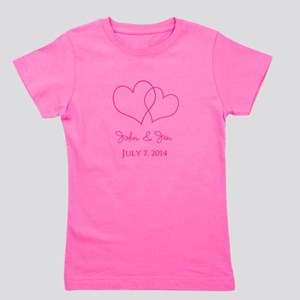 Custom Wedding Favor Girl's Tee