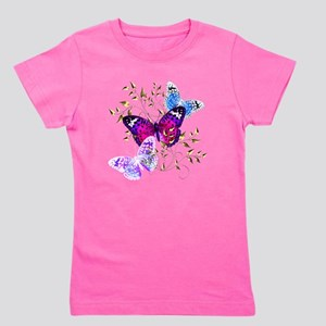 Papillons Girl's Tee