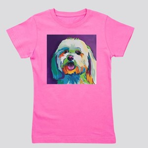 Dash the Pop Art Dog Girl's Tee