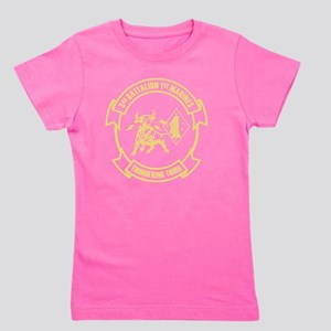 3rd Battalion 1st Marines Front Girl's Tee