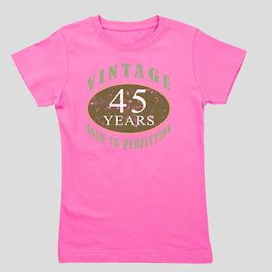VinRetro45 Girl's Tee