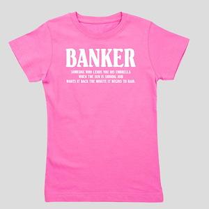 Funny Banker Girl's Tee