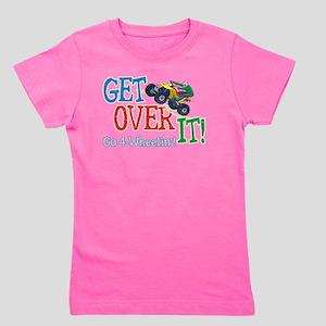 Get Over It - 4 Wheeling Girl's Tee