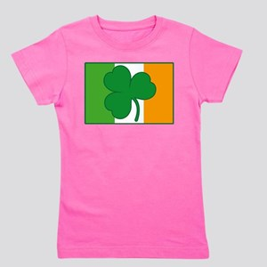 Shamrock Ireland Flag Women's T-Shirt