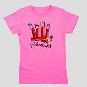 Phlebotomist Girl's Tee