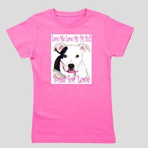 Bred for Love White T-Shirt