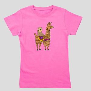 Cute Sloth Riding Llama T-Shirt