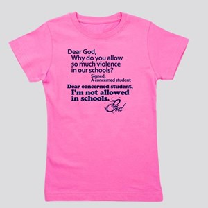 Dear God Girl's Tee