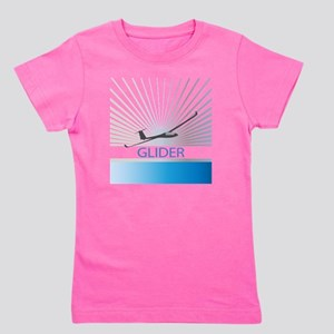 Aircraft Glider Girl's Tee