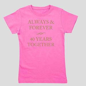 40 Years Together Girl's Tee