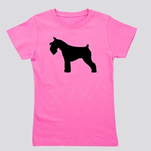 miniature schnauzer black Girl's Tee