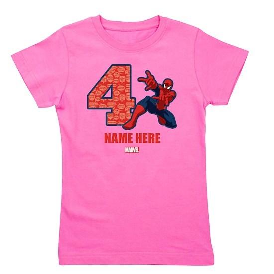 Spider-Man Personalized Birthday