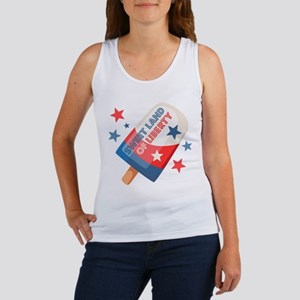 Ice Cream Pop 4th Women's Tank Top