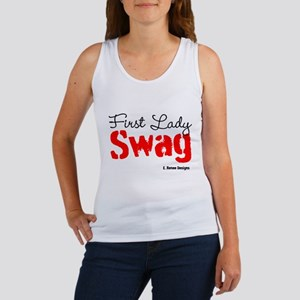 First Lady Swag-Red Women's Tank Top