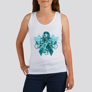 I Wear Teal for my Mom Women's Tank Top