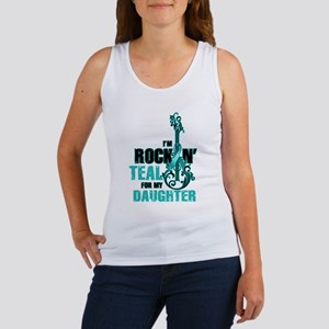 RockinTealFor Daughter Tank Top