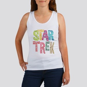 Star Trek:Names Women's Tank Top