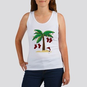 Tropical Christmas Women's Tank Top