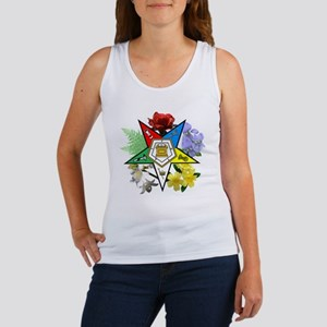 OES Floral Emblem Women's Tank Top