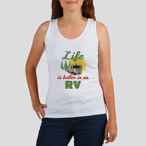 Life's Better In An RV Women's Tank Top
