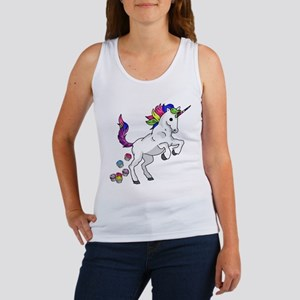 Unicorn Cupcakes Women's Tank Top
