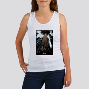 Sequoia National Park Tree (Front) Women's Tank To