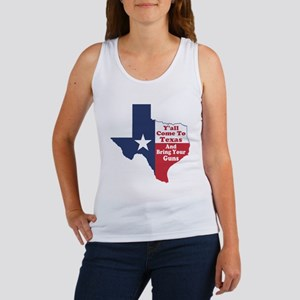 Yall Come to Texas Women's Tank Top