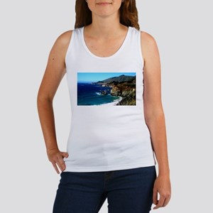 Big Sur on the Pacific Coast Women's Tank Top