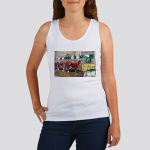 """Color of Money"" Hereford Women's Tank Top"