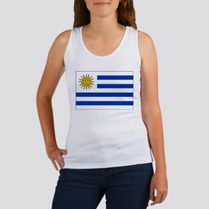 Uruguay Flag Women's Tank Top