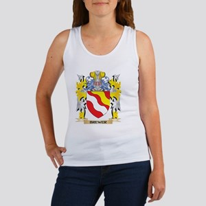 Brewer Coat of Arms - Family Crest Tank Top