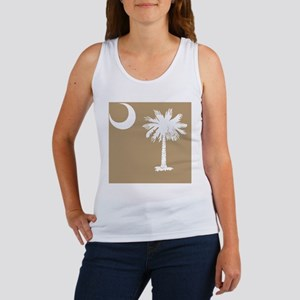 South Carolina Palmetto State Fla Women's Tank Top