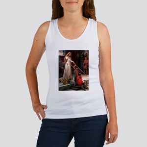 Princess & Doxie Pair Women's Tank Top