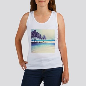 Tropical Beach Tank Top