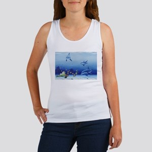 Dolphin Friends Women's Tank Top