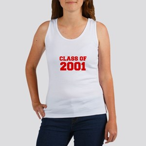 CLASS OF 2001-Fre red 300 Tank Top