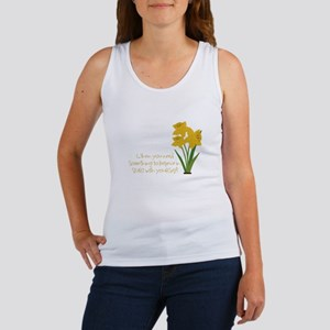 Something To Believe Tank Top