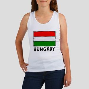 Hungary Flag Tank Top