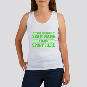 Personalized Your Team Your Text Tank Top
