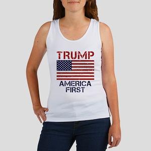 Trump America First Women's Tank Top